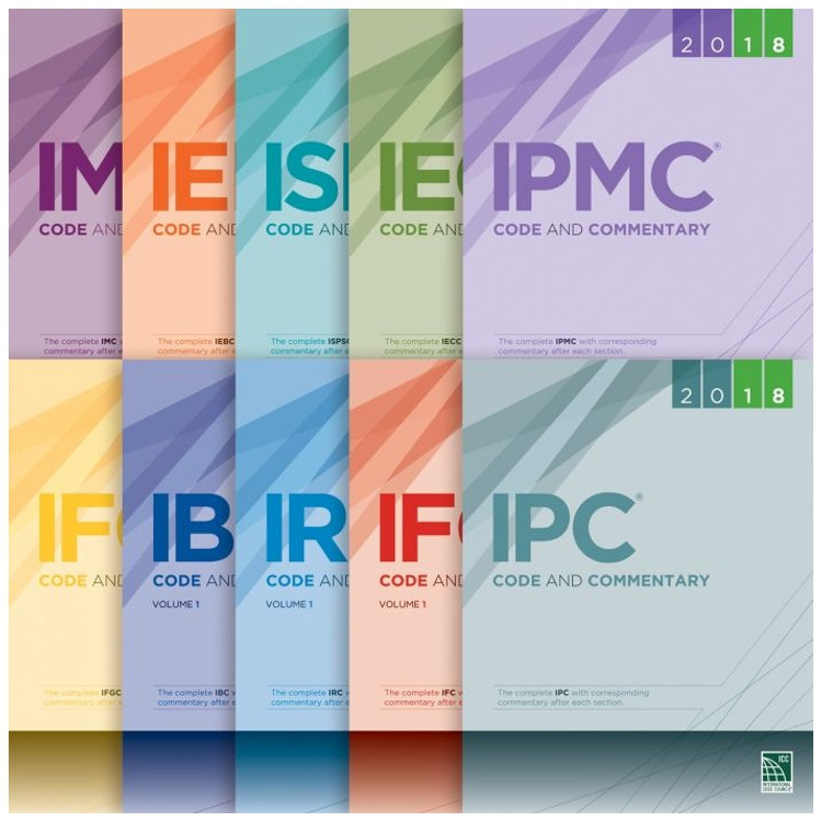 2018 International Codes-Complete Commentaries Collection