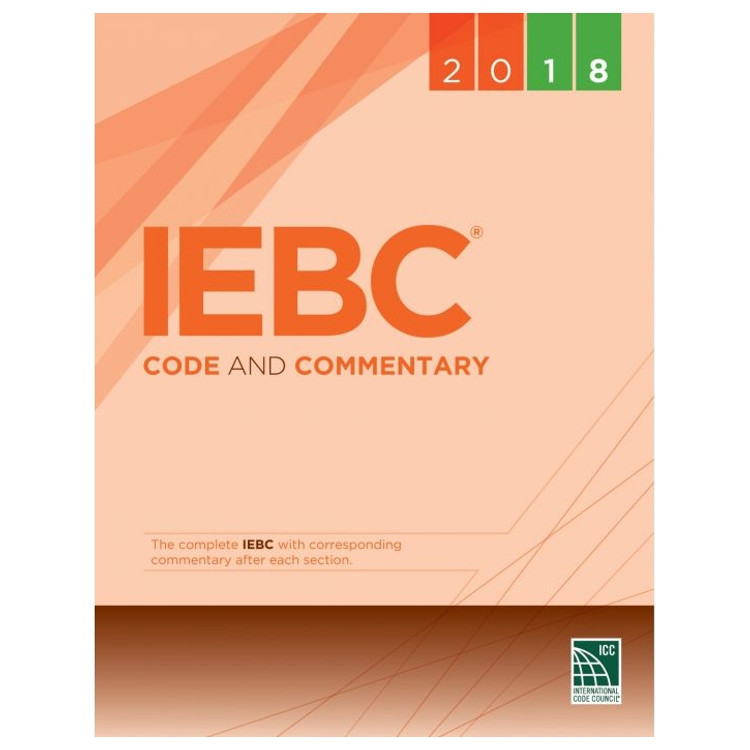 2018 IEBC Code and Commentary - ISBN#9781609837730