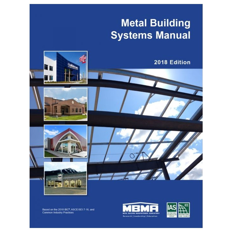 Metal Building Systems Manual 18th Edition-ISBN#9781609838751