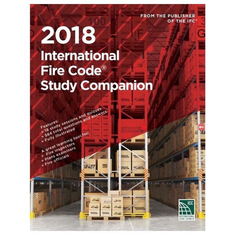 2018 International Fire Code Study Companion - ISBN#9781609837945