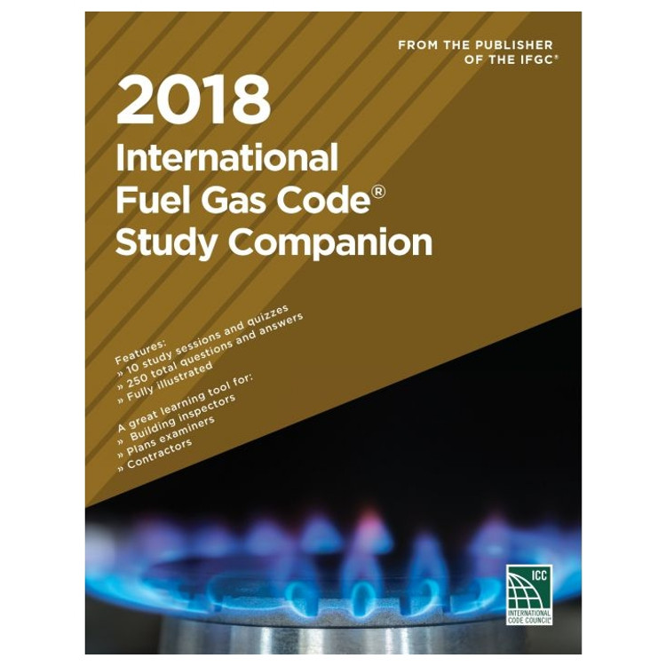 2018 International Fuel Gas Code Study Companion - ISBN#9781609837976