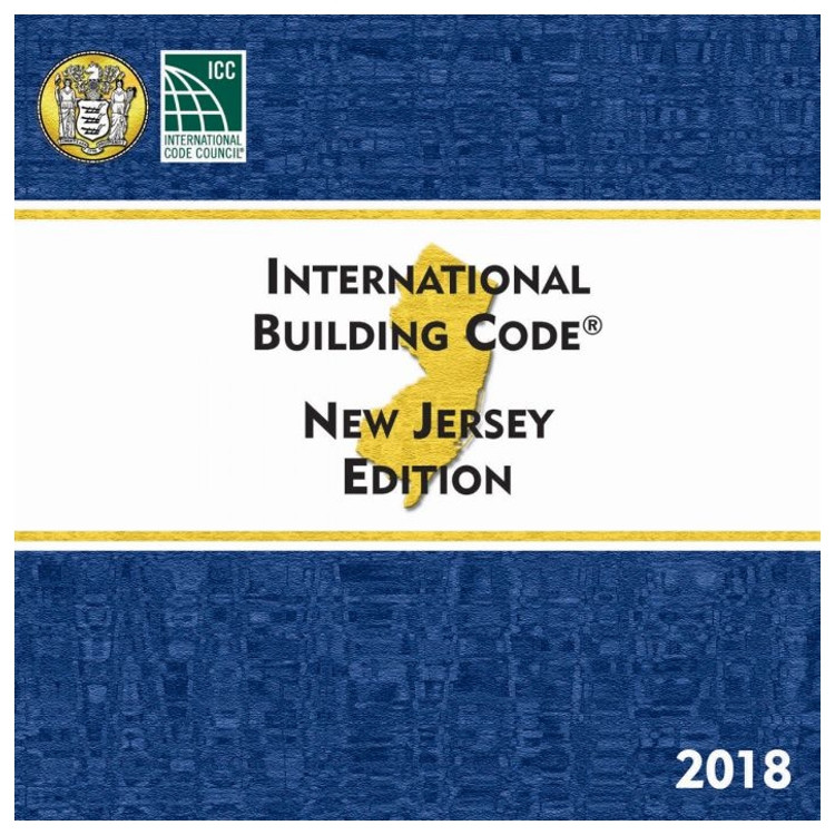 2018 International Building Code New Jersey Edition - ISBN#9781609838874