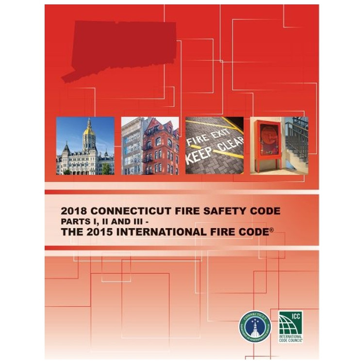 2018 Connecticut Fire Safety Code - ISBN#9781609838614