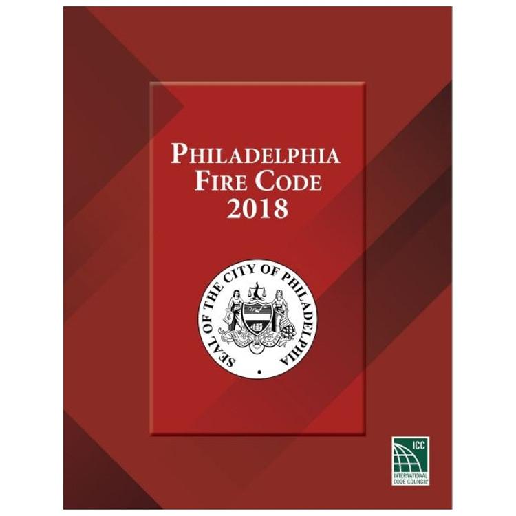 Philadelphia Fire Code 2018-ISBN#9781609839390