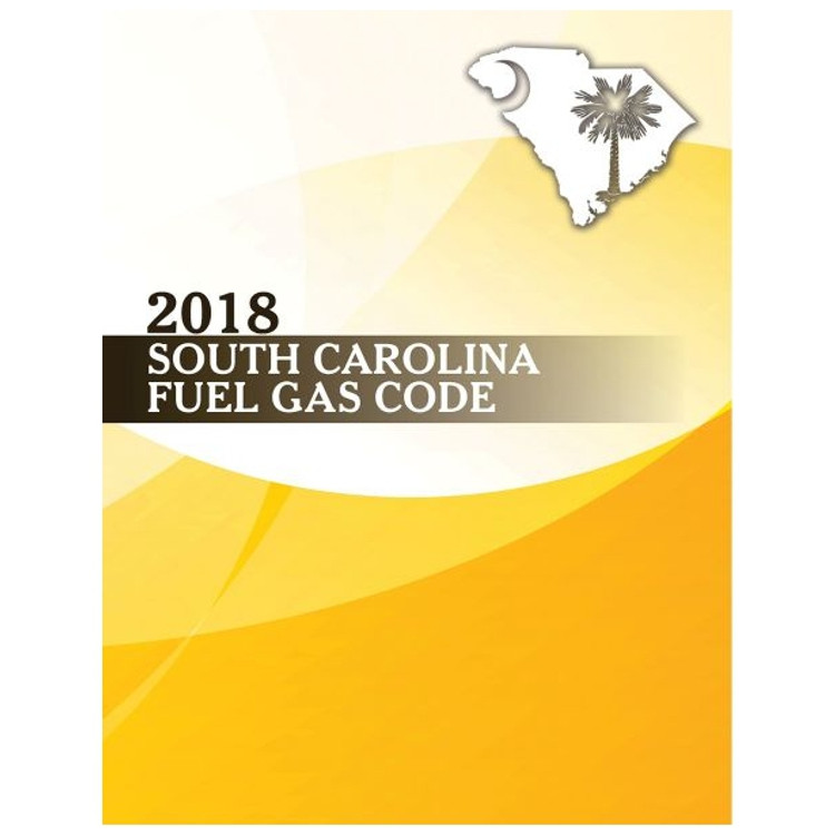2018 South Carolina Fuel Gas Code - ISBN#9781609839277