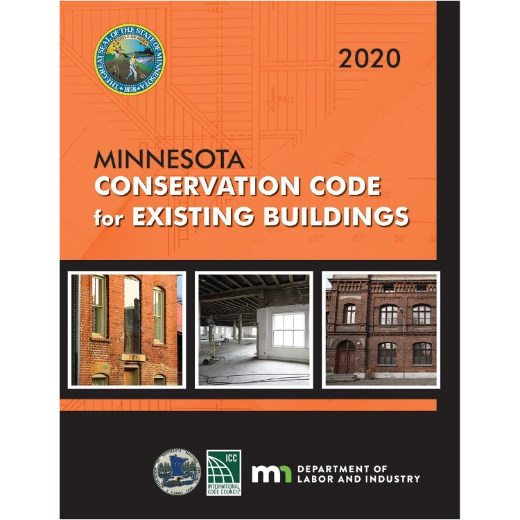 2020 Minnesota Conservation Code for Existing Buildings - ISBN#9781609839499