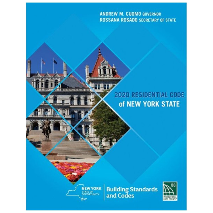 2020 Residential Code of New York State - ISBN#9781609839192