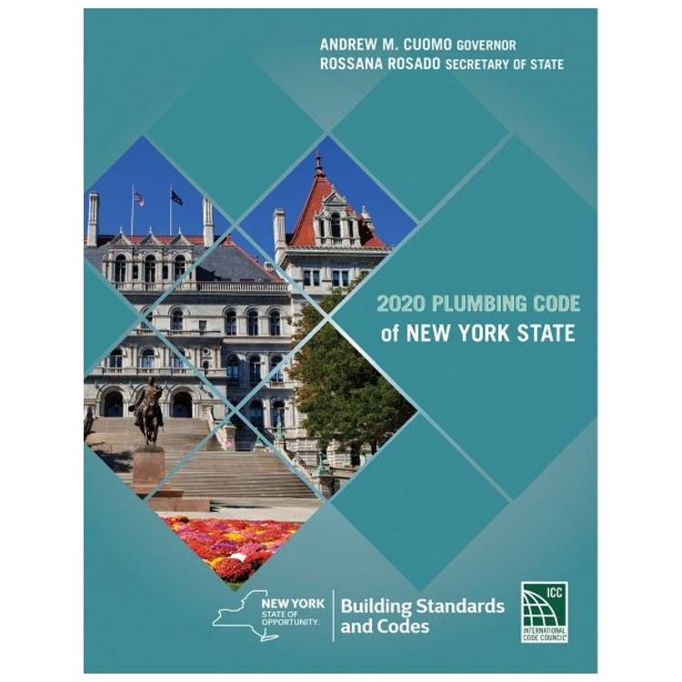 2020 Plumbing Code of New York State - ISBN#9781609839178