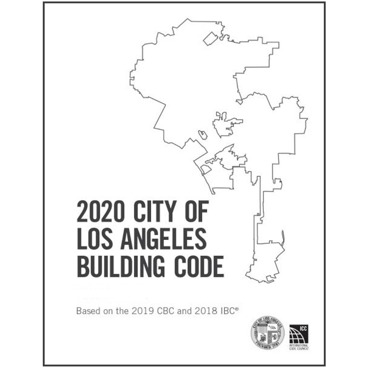2020 City of Los Angeles Building Code Amendments - ISBN#9781609839505