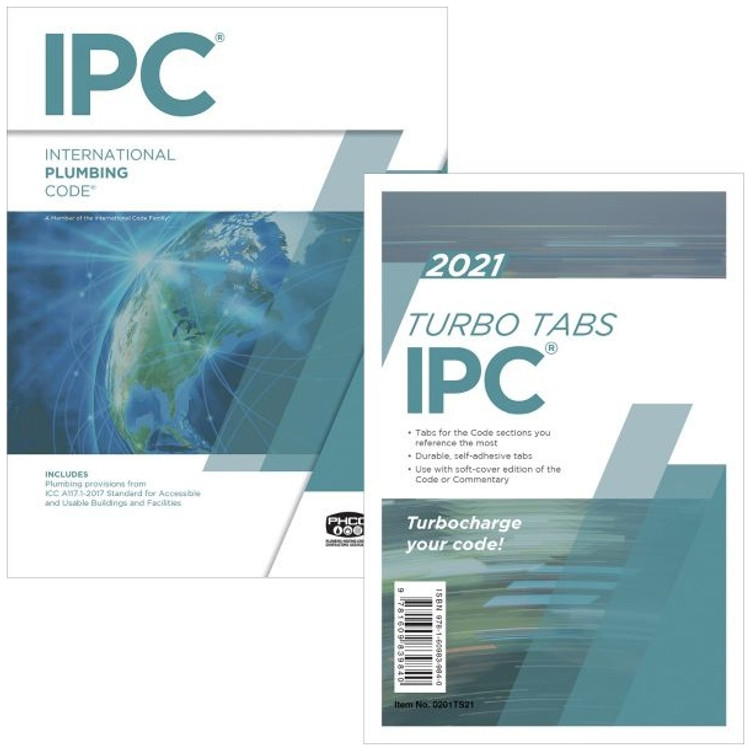 2021 International Plumbing Code & Tab Set