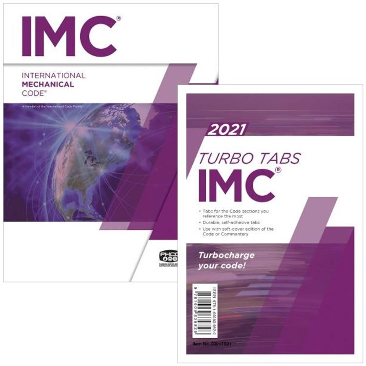 2021 International Mechanical Code and Tab Set