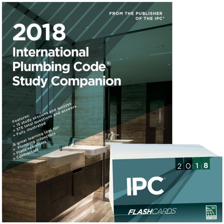 2018 International Plumbing Code Study Companion and Flash Card Set