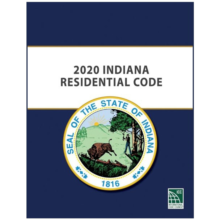 2020 Indiana Residential Code-ISBN#9781609839543