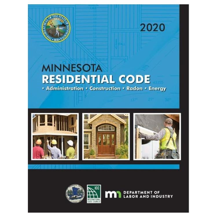 2020 Minnesota Residential Code - ISBN#9781609839888