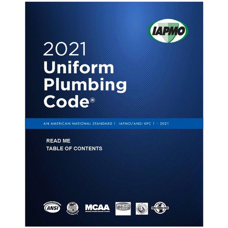 2021 Uniform Plumbing Code