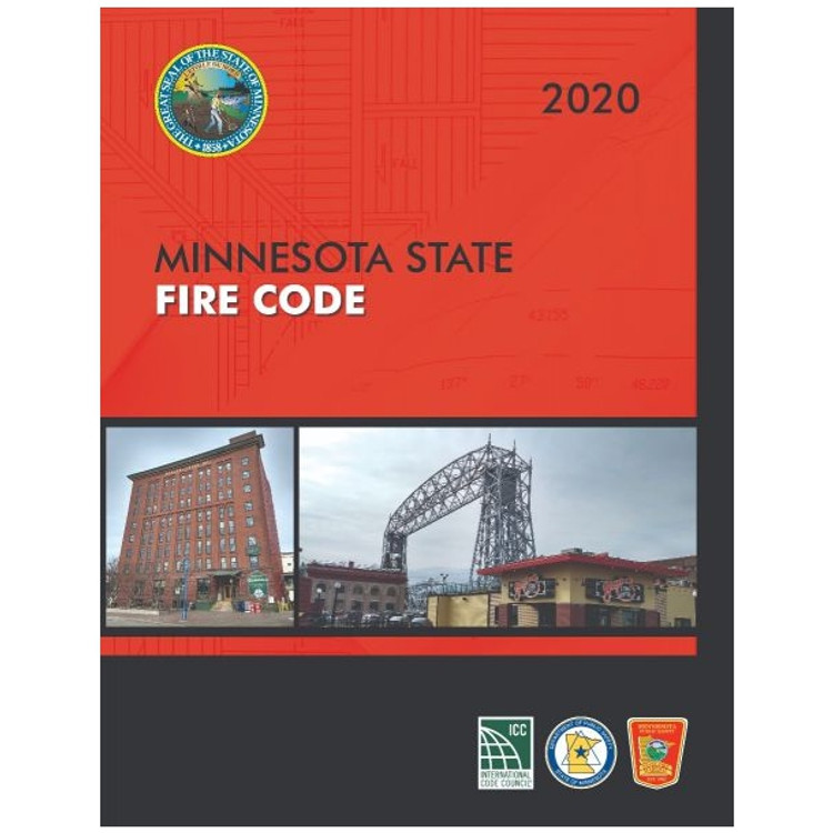 2020 Minnesota Fire Code - ISBN#9781609839895