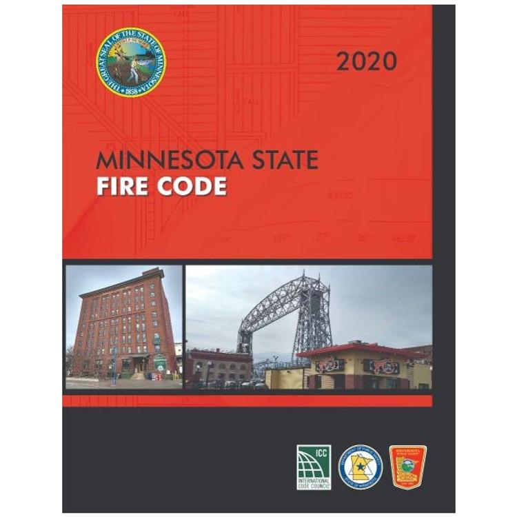 2020 Minnesota Fire Code - ISBN#9781609839895