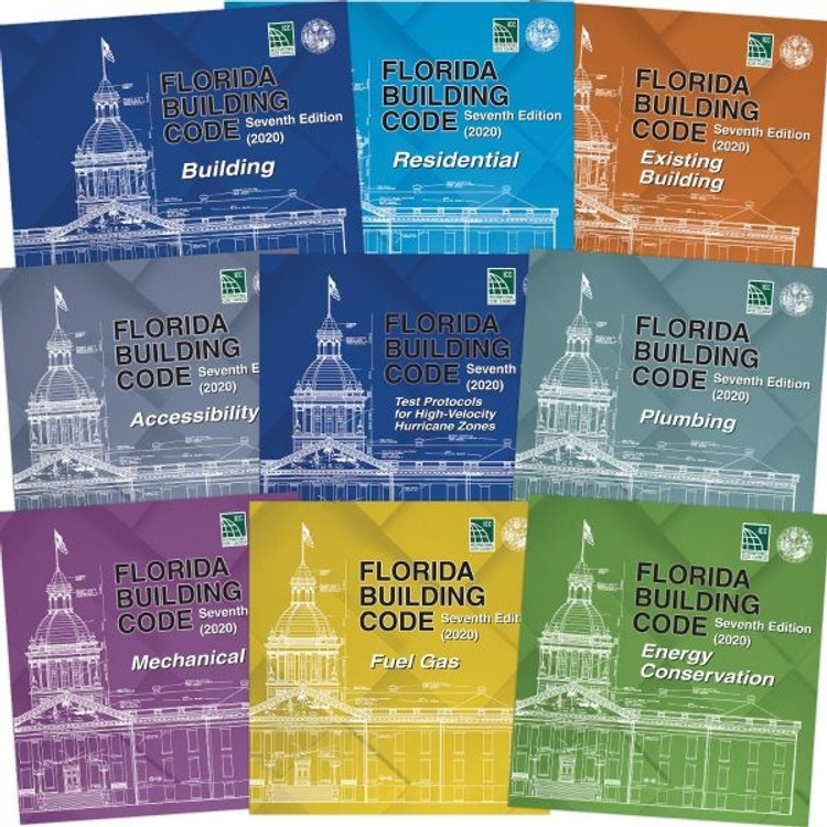 Florida Building Code - Complete Collection 7th Edition (2020)