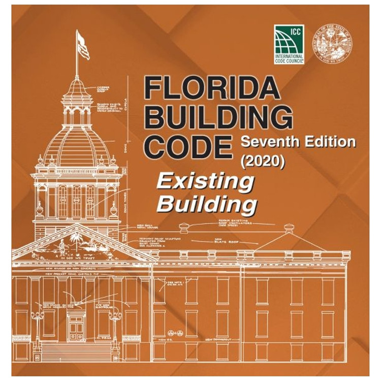 Florida Building Code - Existing Building (2020) - ISBN#9781952468155