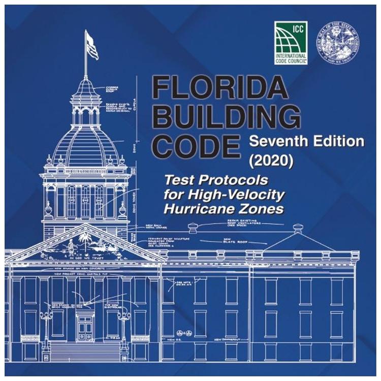 Florida Building Code - Test Protocols for High Velocity Hurricane Zones (2020) - ISBN#9781952468100