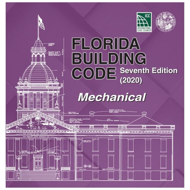 Florida Building Code - Mechanical (2020) - ISBN#9781952468124