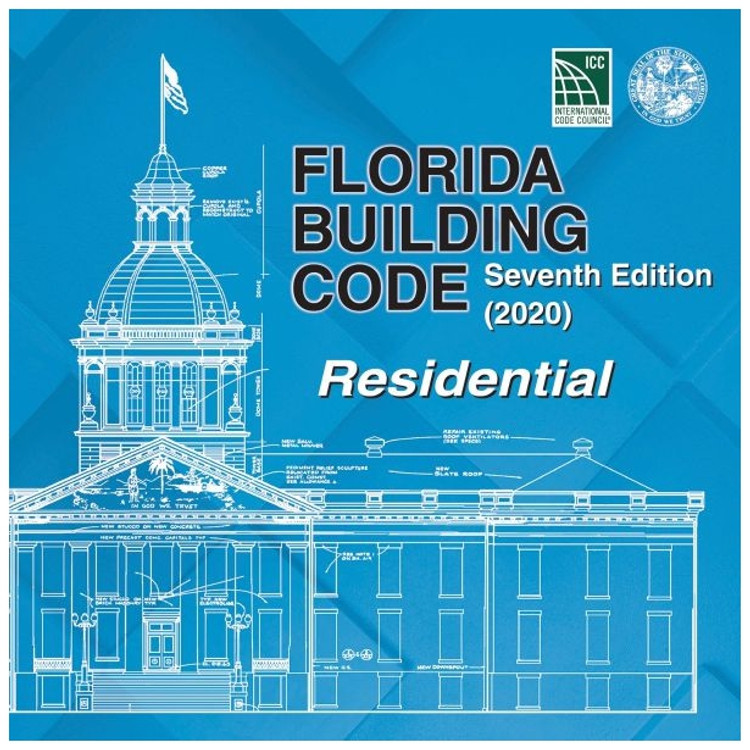 Florida Building Code - Residential (2020) - ISBN#9781952468148