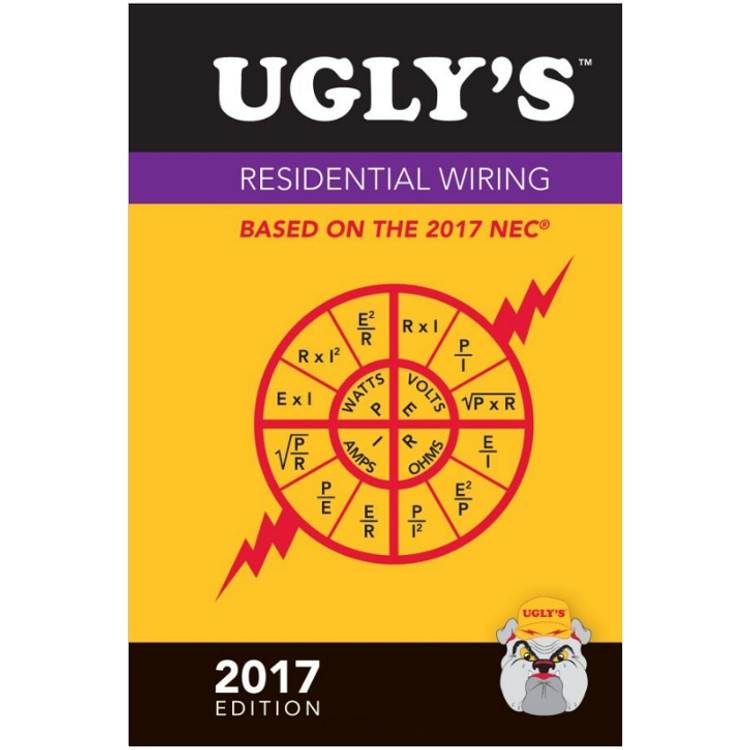Ugly's Residential Wiring 2017- ISBN#9781284119473
