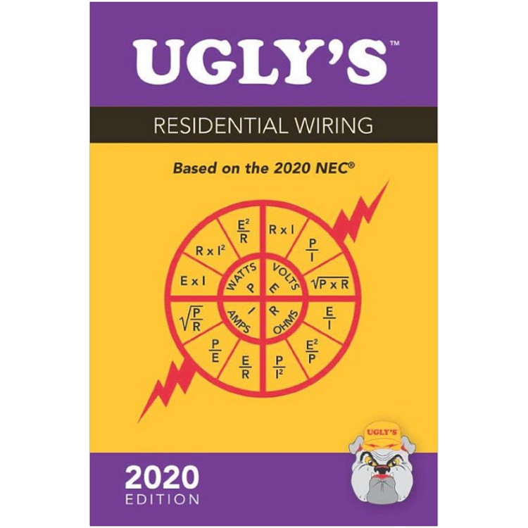 Ugly's Residential Wiring 2020- ISBN#9781284204841