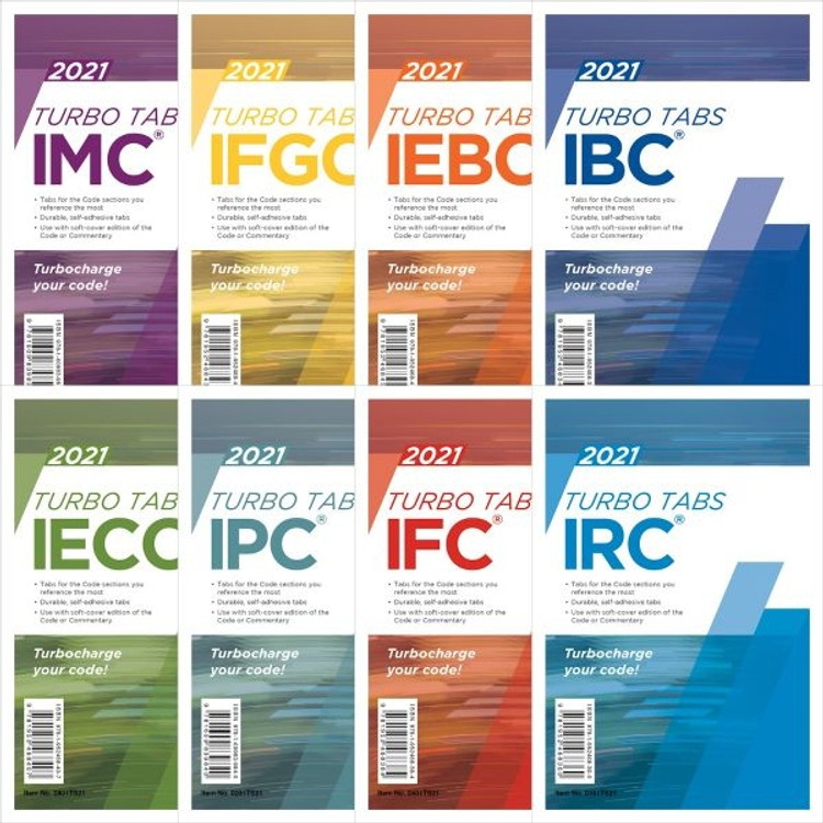 2021 International Codes Complete Collection Turbo Tabs