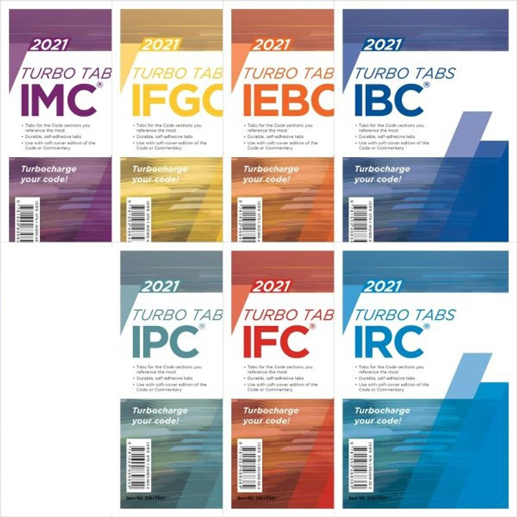 2021 International Codes Complete Collection Turbo Tabs (Looseleaf)