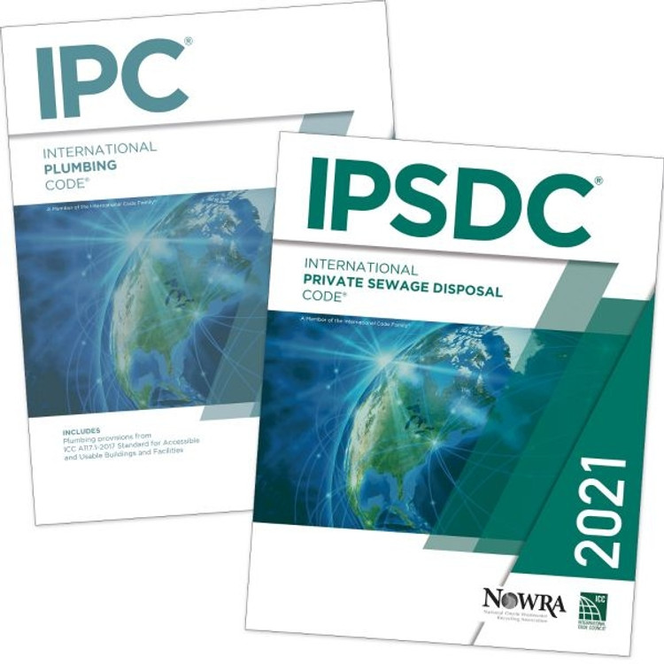 2021 International Plumbing Code and International Private Sewage Disposal Code Set