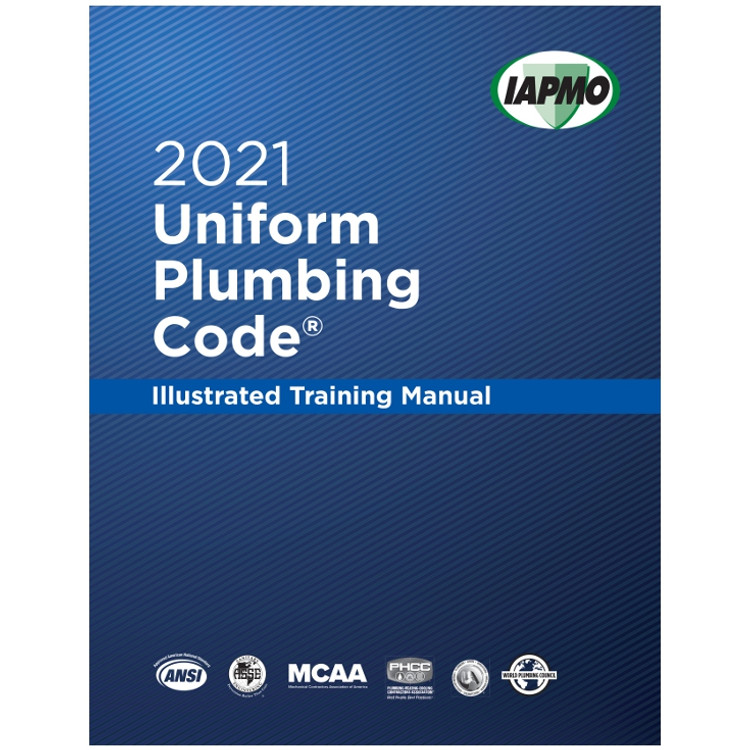 2021 Uniform Plumbing Code Illustrated Training Manual