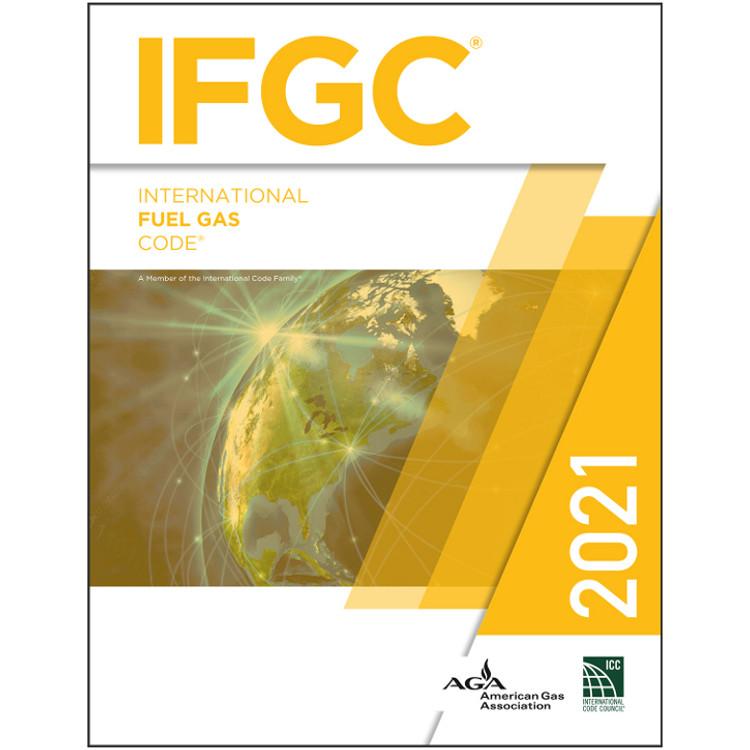 2021 International Fuel Gas Code Looseleaf - ISBN#9781609839673