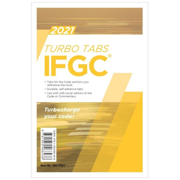 2021 IFGC Turbo Tabs Looseleaf - ISBN#9781985248445