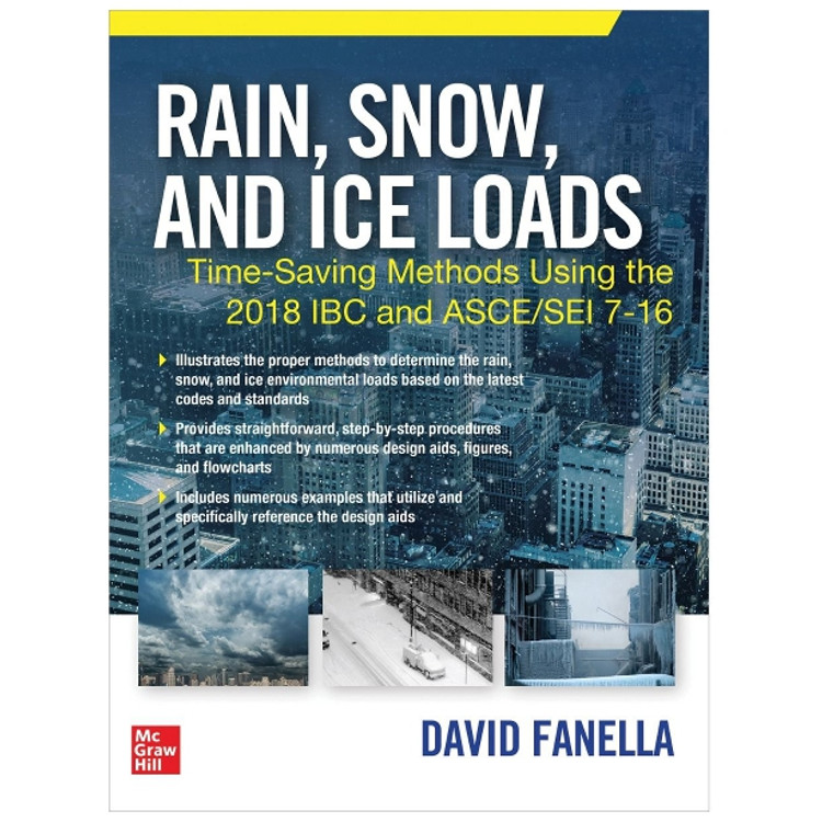 Rain Snow and Ice Loads - ISBN#9781260461527
