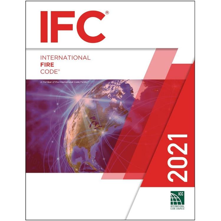 2021 International Fire Code - ISBN#9781609839598