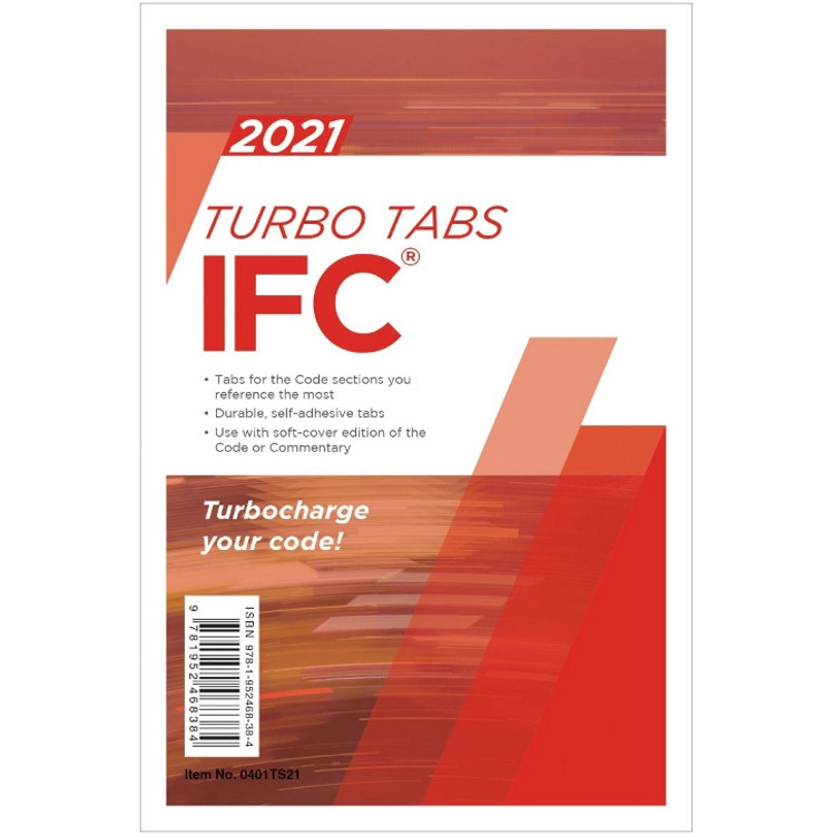 2021 IFC Turbo Tabs - ISBN#9781952468384