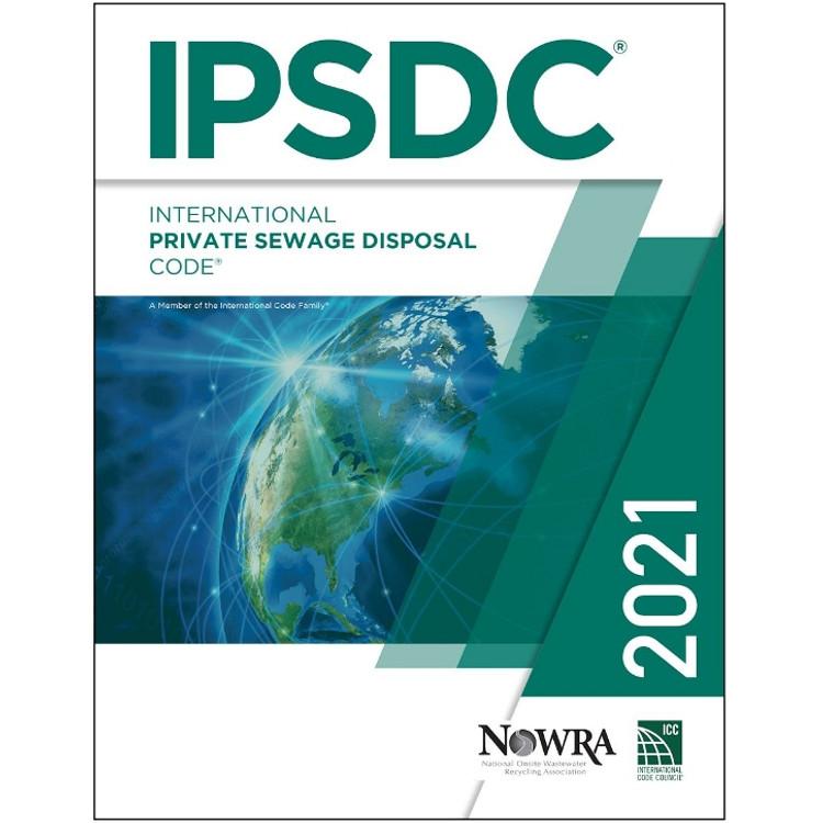 2021 International Private Sewage Disposal Code - ISBN#9781609839680