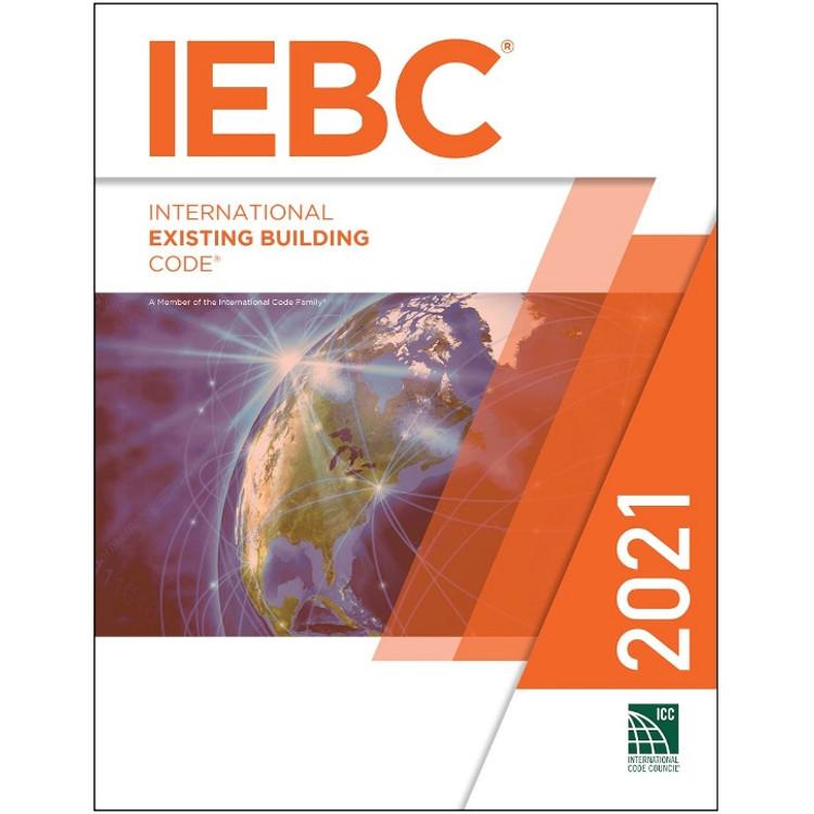2021 International Existing Building Code - ISBN#9781609839697