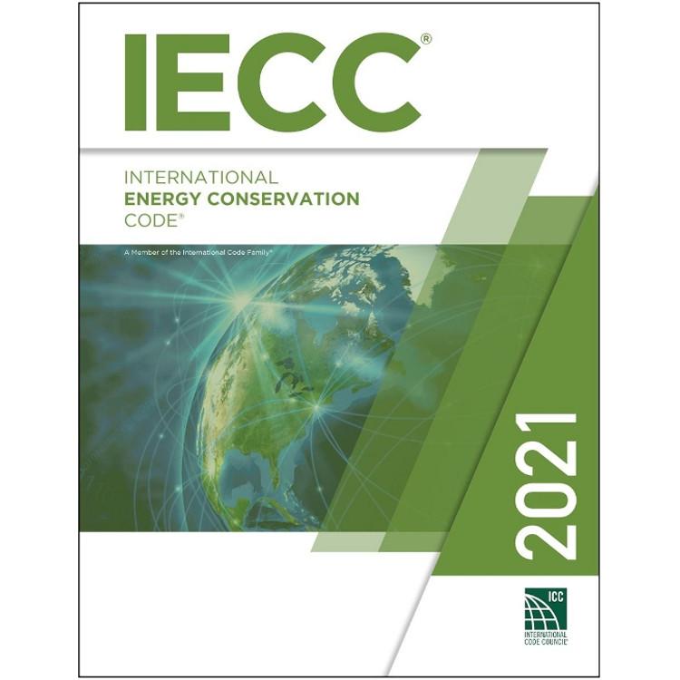 2021 International Energy Conservation Code - ISBN#9781609839611