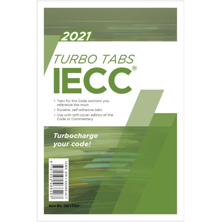 2021 IECC Turbo Tabs-ISBN#9781952468407