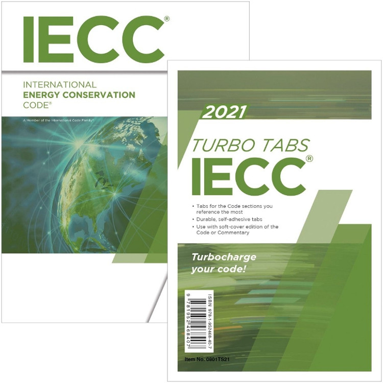 2021 International Energy Conservation Code & Tab Set