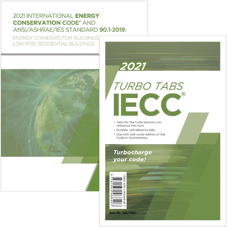 2021 IECC and ANSI/ASHRAE/IES Standard 90.1-2019 and Tab Set