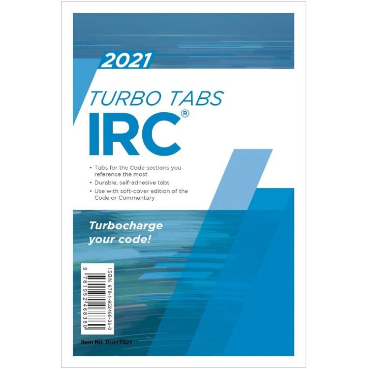 2021 IRC Turbo Tabs - ISBN#9781952468360