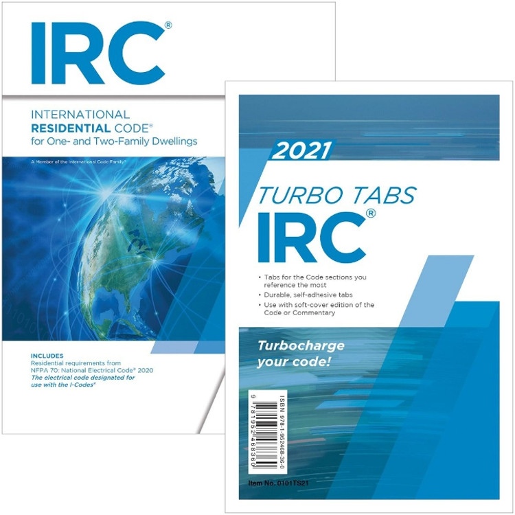 2021 International Residential Code & Tab Set