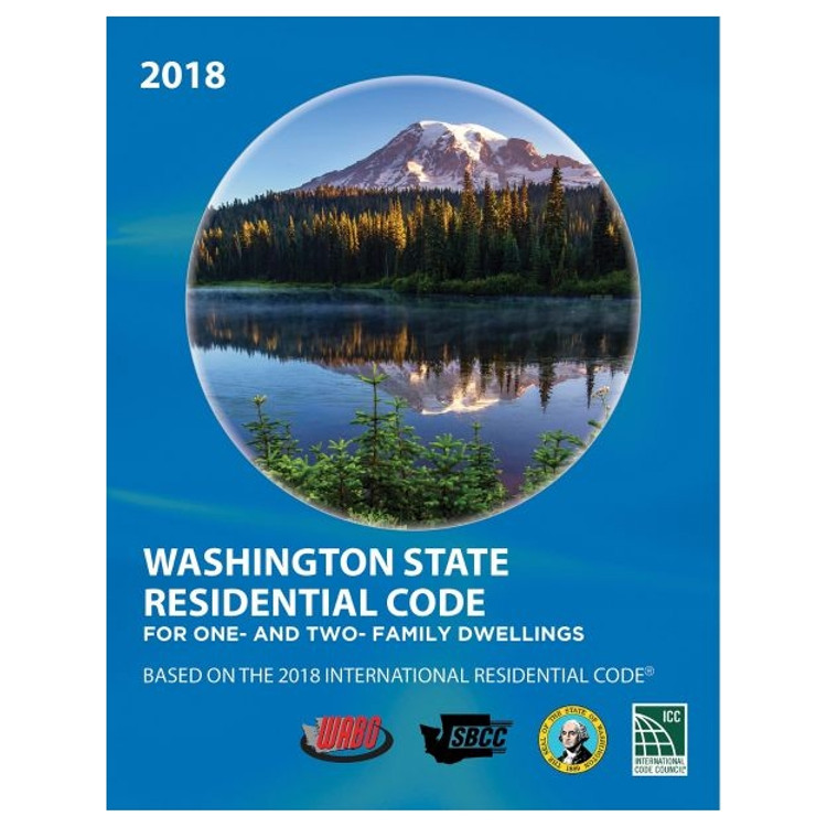 2018 Washington State Residential Code - ISBN#9781609839864