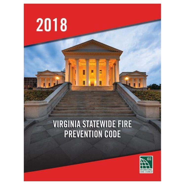 2018 Virginia Statewide Fire Prevention Code - ISBN#9781955052771