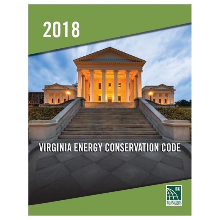 2018 Virginia Energy Conservation Code - ISBN#9781955052894