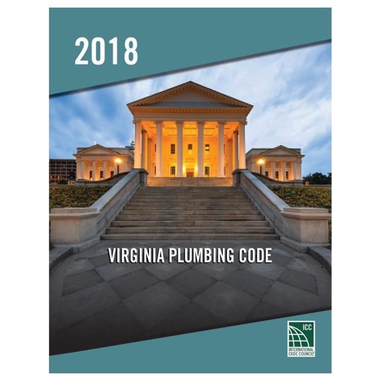2018 Virginia Plumbing Code - ISBN#978195505795