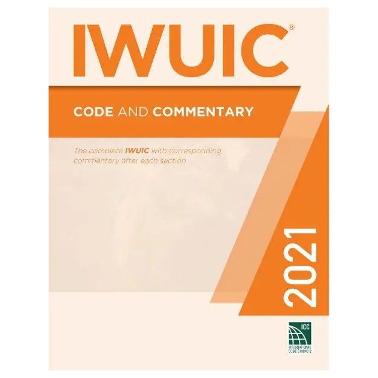 2021 IWUIC Code and Commentary-9781952468520